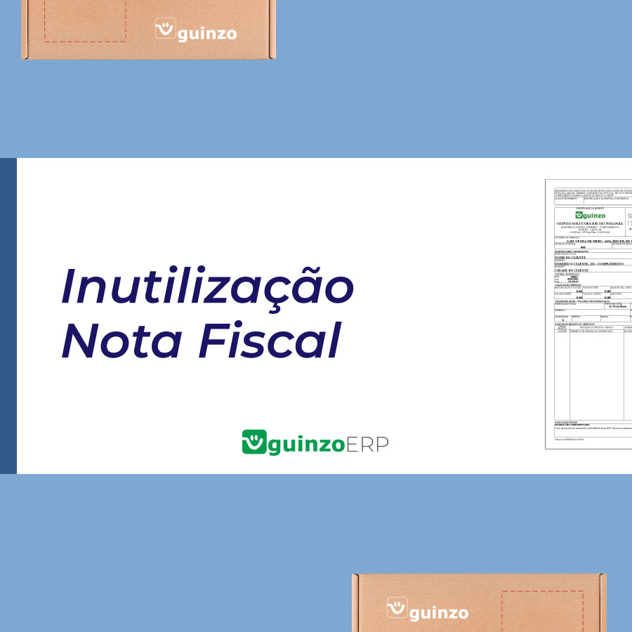 Imagem: Inutilização Nota Fiscal