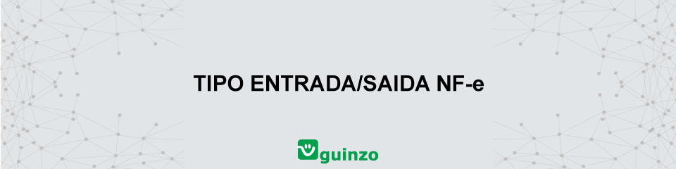 Imagem: Tipo Nota Fiscal Entrada/Saída NF-E