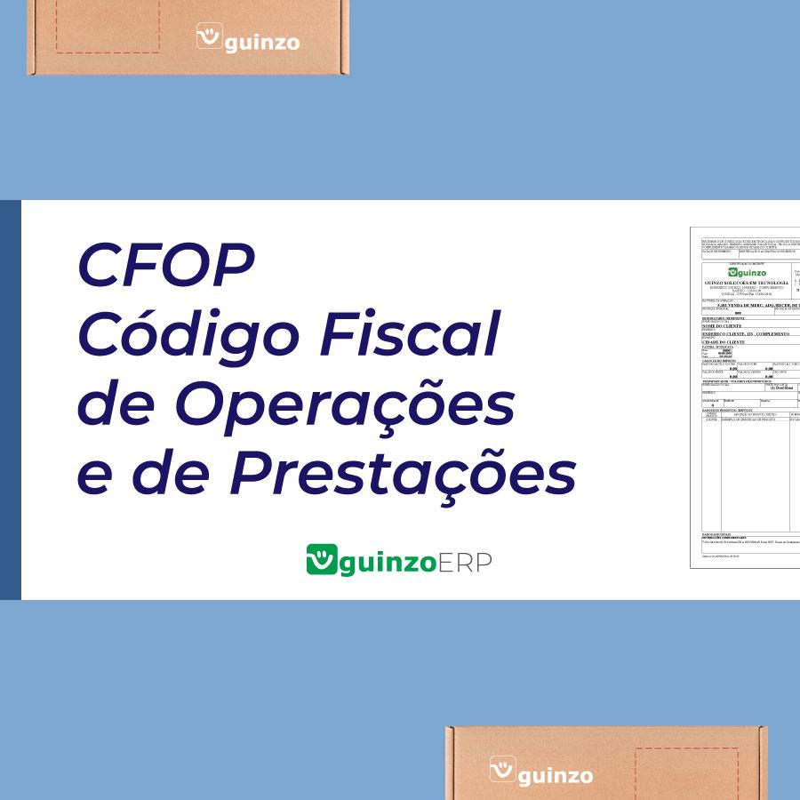Imagem: CFOP - código fiscal de operações e de prestações