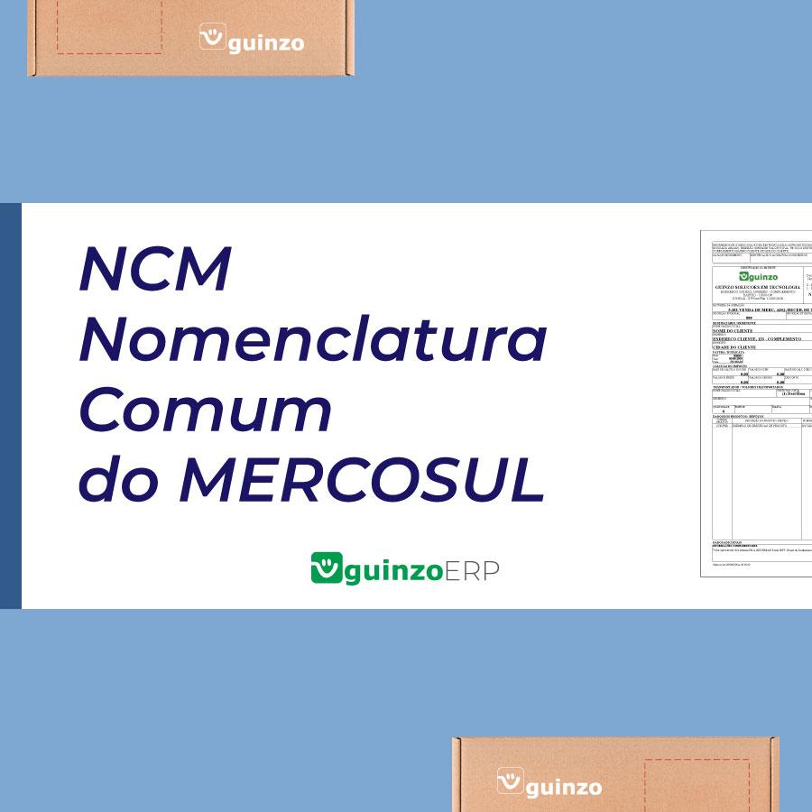Imagem: NCM Nomenclatura Comum do Mercosul