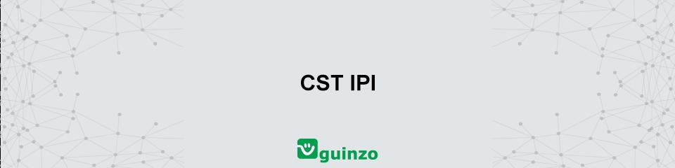 Imagem: CST IPI
