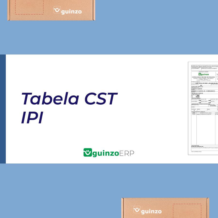 Imagem: Tabela CST ou CSOSN ICMS