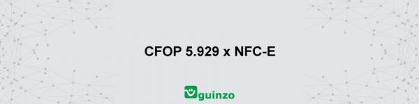 Imagem: CFOP 5929 e NFC-e