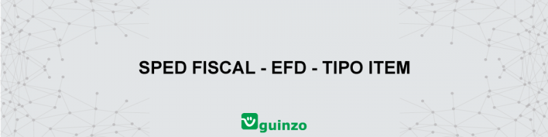 Imagem: SPED FISCAL TIPO ITEM