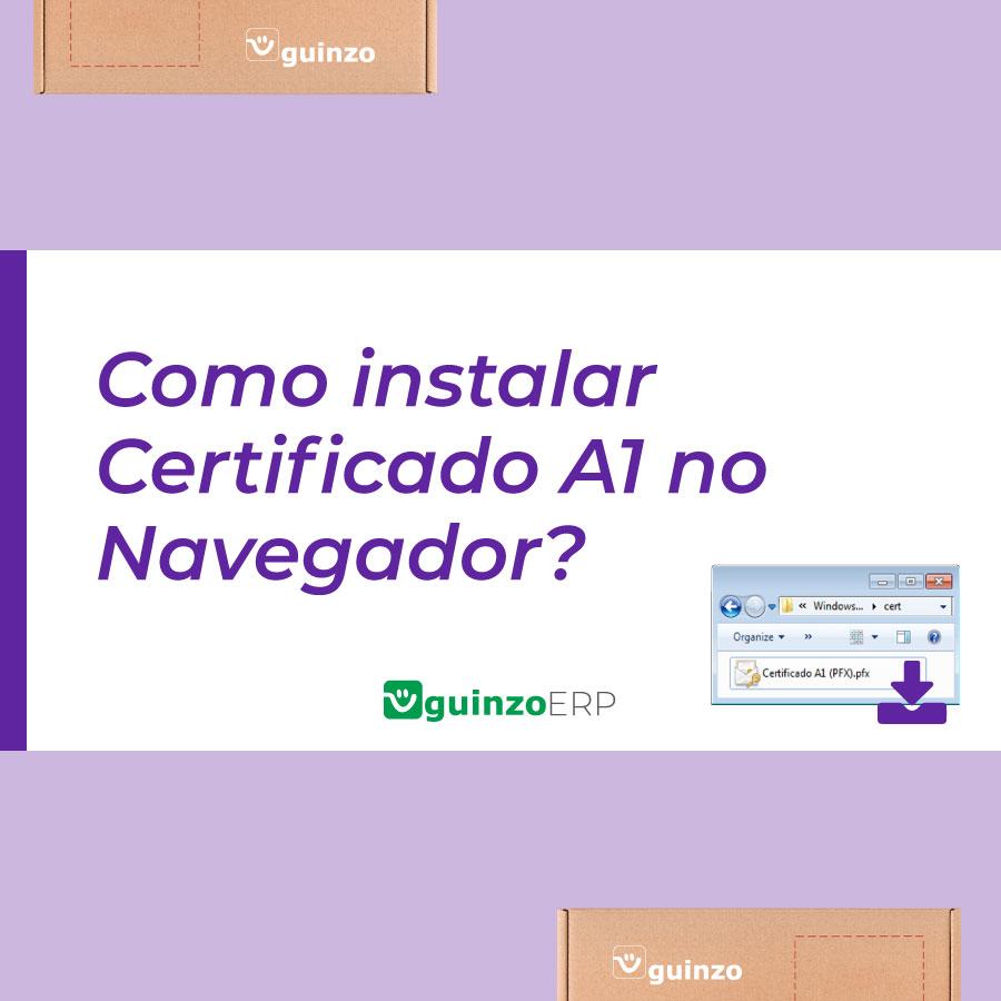Imagem: Como instalar certificado a1 no navegador