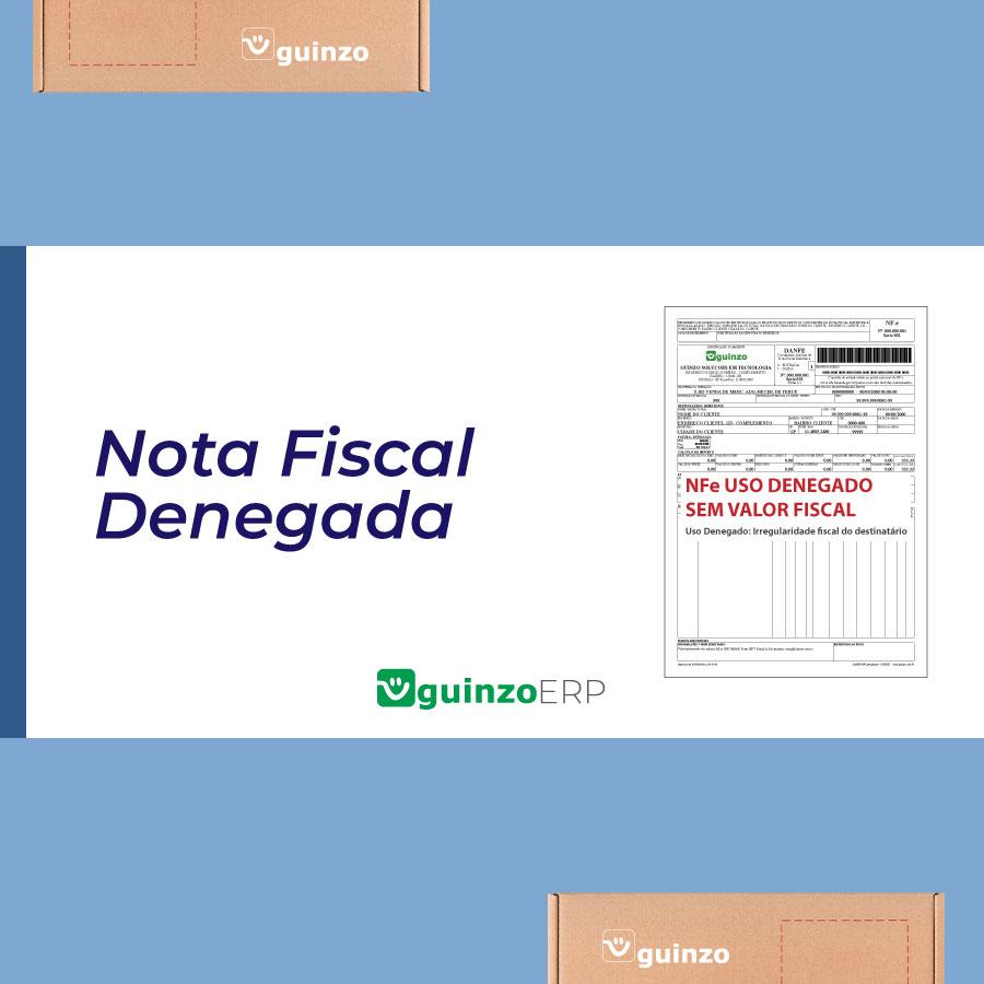 Imagem: Nota Fiscal Denegada