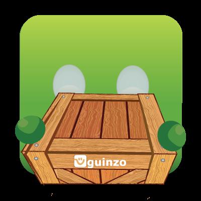 Mascote Guinzo Módulo Estoque