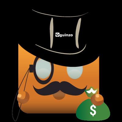 Mascote Guinzo Módulo Financeiro