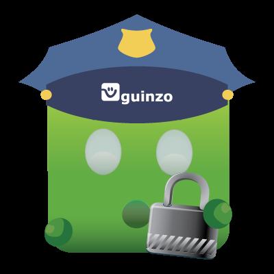 Mascote Guinzo Segurança